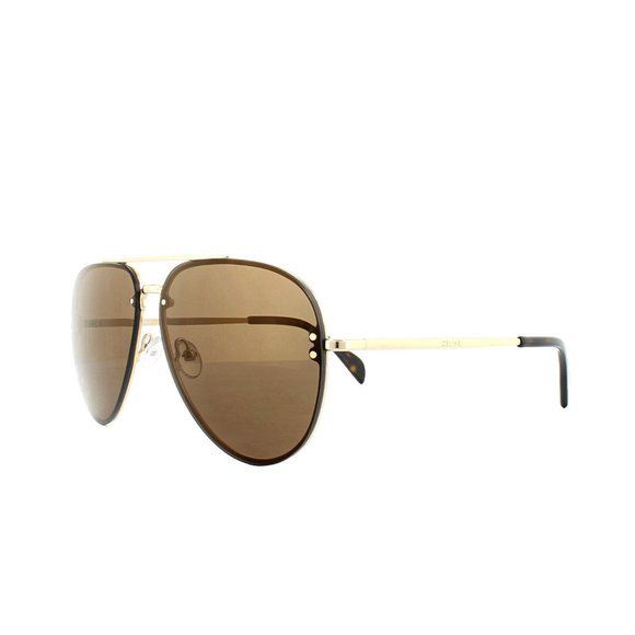 11fdac1c3ab Celine Accessories - Celine Sunglasses 41391 S Mirror J5G LC Gold Brown